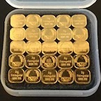 Goldbarren Silberbarren der Norddeutschen ES 50g Tafelgold