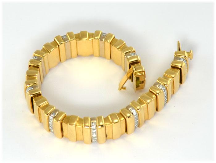 Schmuckankauf Armband-Gold-mit-Brillanten