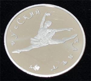 Russland-150Rubel-Platin-Ballerina